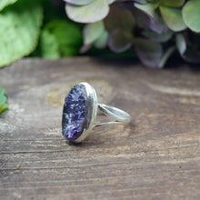 Load image into Gallery viewer, Amethyst Ring | Sterling Silver 925 | SIZE 8.5 | Natural Amethyst Gemstone Ring | Gift For Her | Gemstone Jewelry