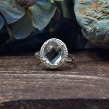 Load image into Gallery viewer, Prasiolite Ring | Sterling Silver 925 | SIZE 6 | Green Amethyst Ring
