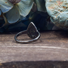 Load image into Gallery viewer, Turquoise Ring | Oxidized Sterling Silver 925 | SIZE 6 | Funky Ring