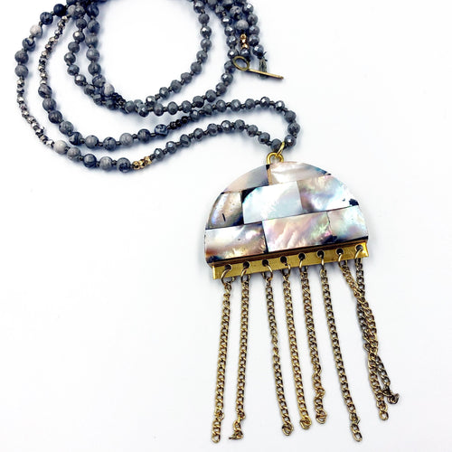 Jellyfish Tassel Necklace