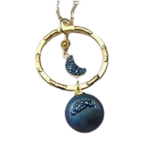 Moon Shadow Necklace
