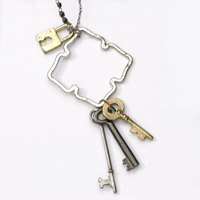 Lock and Keys Necklace