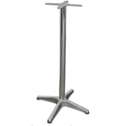 CE Bar Table Base – Medium Duty – Aluminium