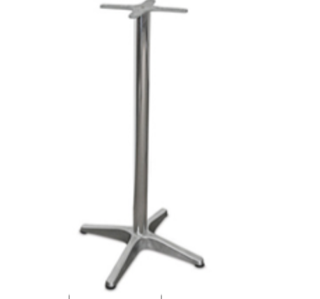 CE Bar Table Base – Heavy Duty – Aluminium