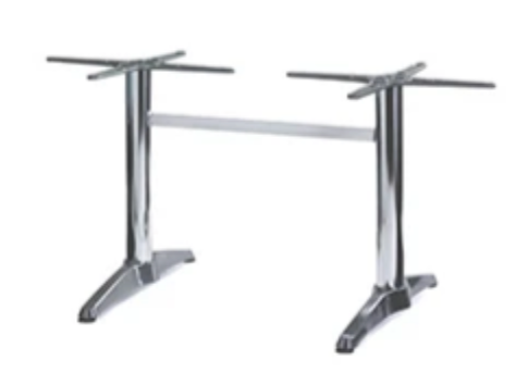 CE H-Bar Table Base – Aluminium