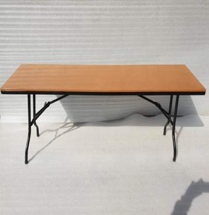 Supawood Trestle Table 1.8 Legs fold In