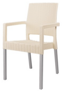 Nico R Chair - Rattan With Arms