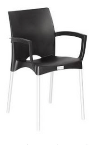 Indigo Cafe Chair With Arms