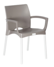 Load image into Gallery viewer, Indigo Cafe Chair With Arms