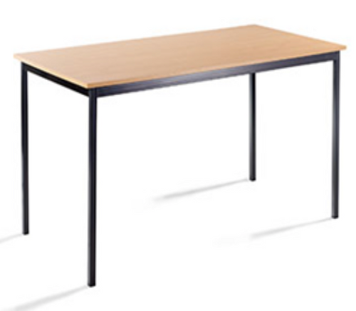 Melamine Top Rectangular Table