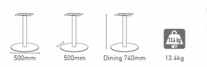 Disc Dining Base
