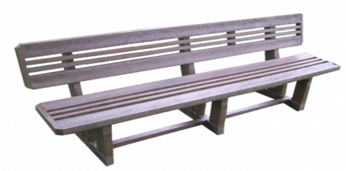 Fancy Bench With Back