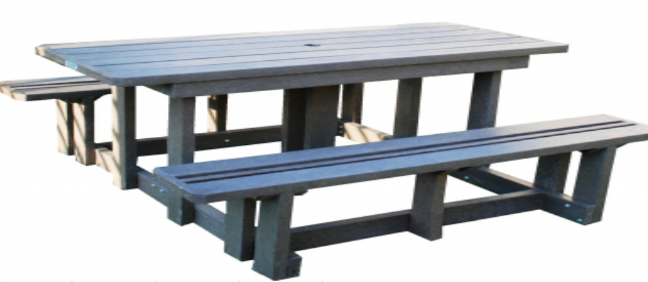 Standard Picnic Bench WITH NO BACK