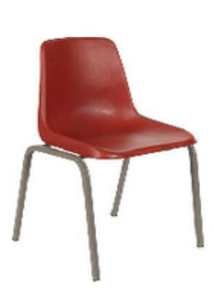 Polyshell Chair - Virgin - Prices vary by Seat Height & size