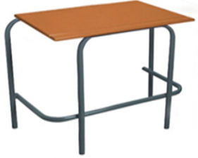Standard Double Desk - Supawood