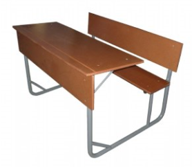 Combination Double Desk - Supawood
