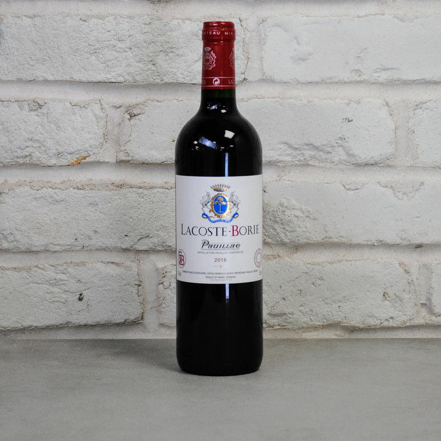 2016 CHATEAU GRAND-PUY-LACOSTE Lacoste Borie 75cl (Bordeaux, France)