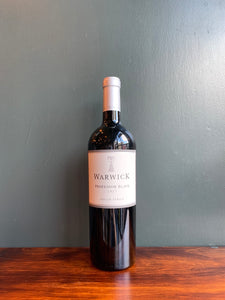 2017 WARWICK ESTATE Professor Black White Blend 75cl (Stellenbosch, South Africa)