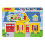 Around the House Sound Puzzle - 8 Pieces