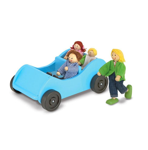 Car & Poseable Passengers