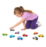Car Set - 9 Pieces