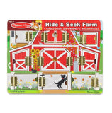 Magnetic Farm Hide & Seek Board