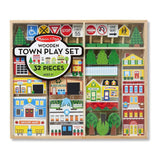 Wooden My Town Playset