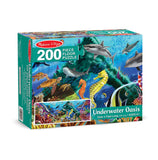 Underwater Oasis Floor Puzzle - 200 Pieces