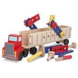 Big Rig Building Truck Play Set