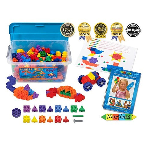 Morphun Junior Starter Rainbow 300pc with guidebook