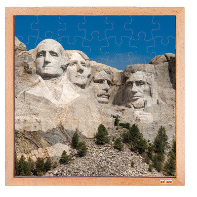 Mount Rushmore 49 Pieces