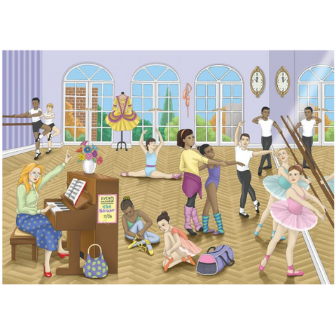 Ballet Wooden Jigsaw Puzzle - 48 Pieces