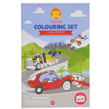 Colouring Set - Cars And Trucks