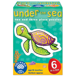 Under The Sea Jigsaw Puzzles - 2 & 3 Pieces