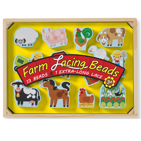 Farm Lacing Beads