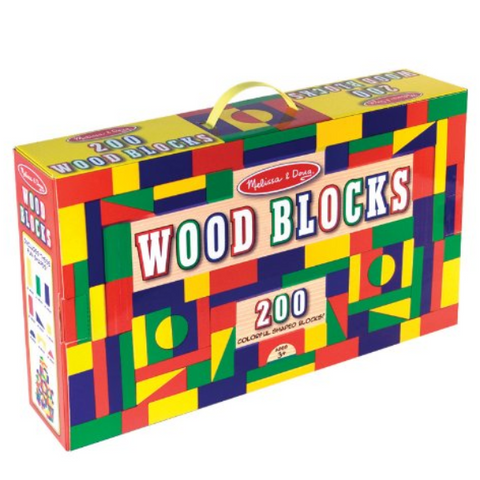 200 Wooden Blocks