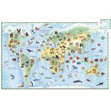 World Animals Observation Puzzle - 100 Pieces