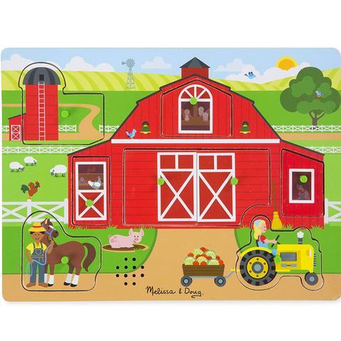 Around the Farm Sound Puzzle - 8 Pieces