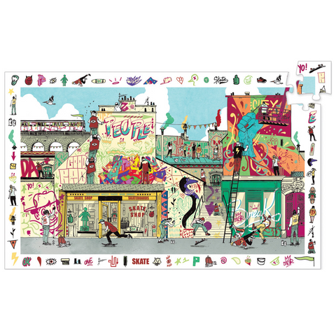 Street Art Observation Puzzle - 200 Pieces