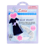 Lottie Doll - Blue Velvet Outfit Set