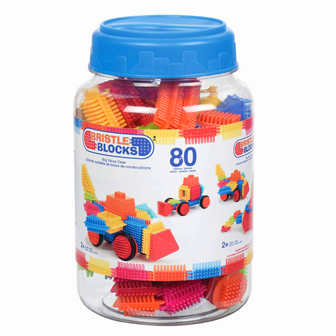Bristle Blocks - 80 Pieces