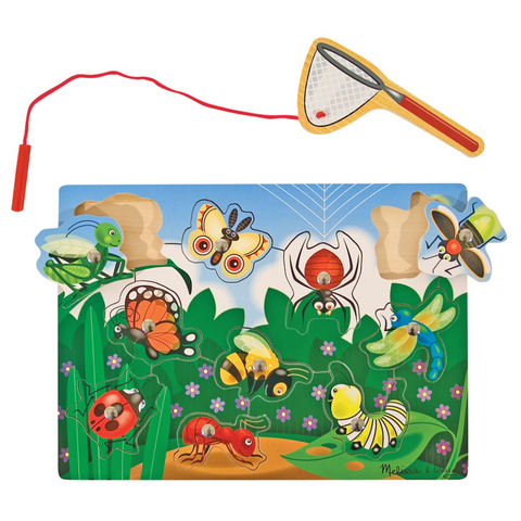 Magnetic Bug-Catching Game