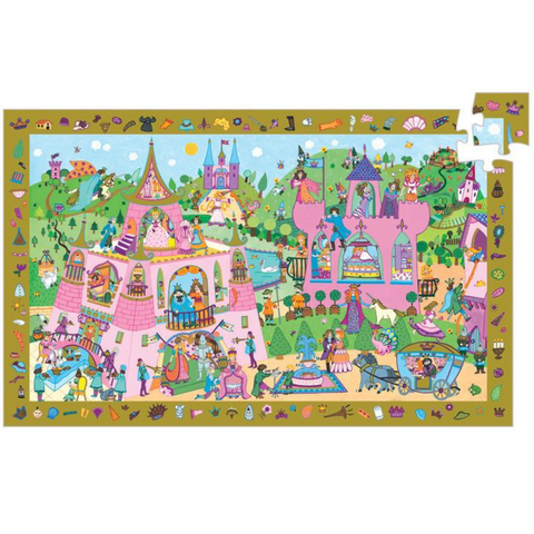Princess Observation Puzzle - 54 Pieces
