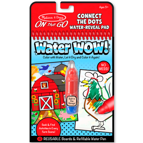 Connect The Dots Farm Water Reveal Pad