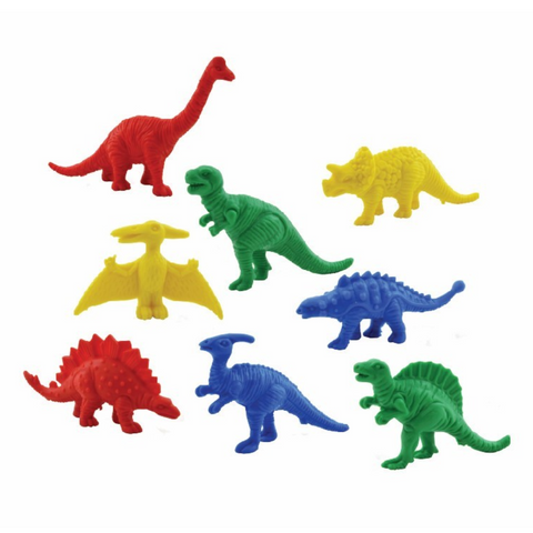 Dinosaur Counters - 64 Pieces