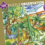 Dinosaur Observation Puzzle - 100 Pieces