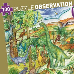 Observation Puzzle - Dinosaur