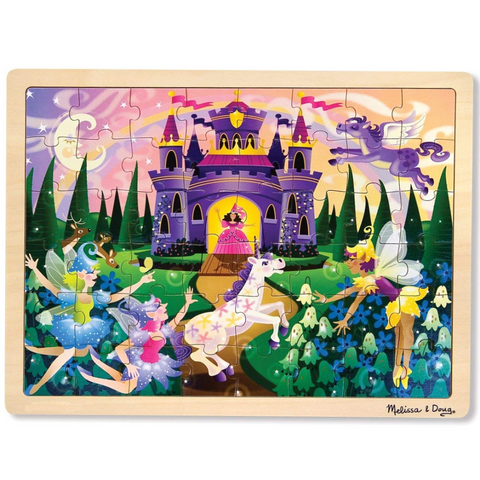 Fairy Fantasy Wooden Jigsaw Puzzle - 48 Pieces