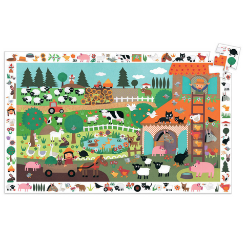 The Farm Observation Puzzle - 35 Pieces