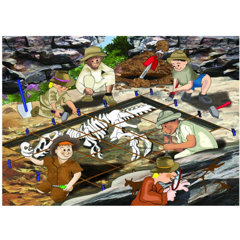 Geology Wooden Jigsaw Puzzle - 36 Pieces